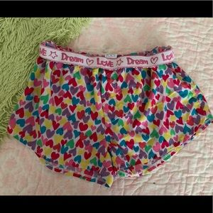 Girls Children's Place Fold-Over Pajama Boxers F4